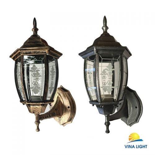 Đèn chùa đồng 6 kính cong VL-031