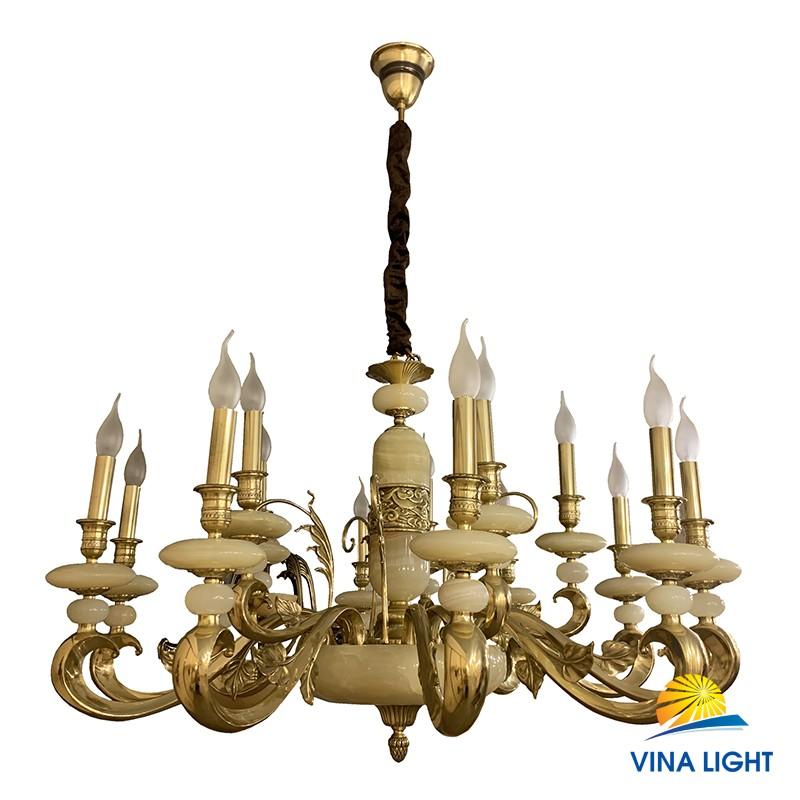 Đèn chùm đồng xịn VL-1225-15