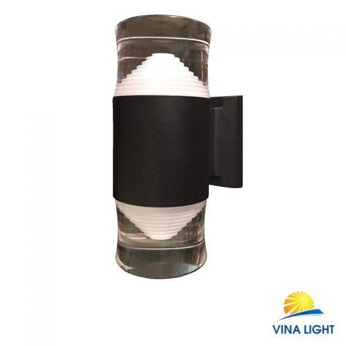Đèn gắn tường chày Pha lê kim tự tháp đơn VL-1902-2BK