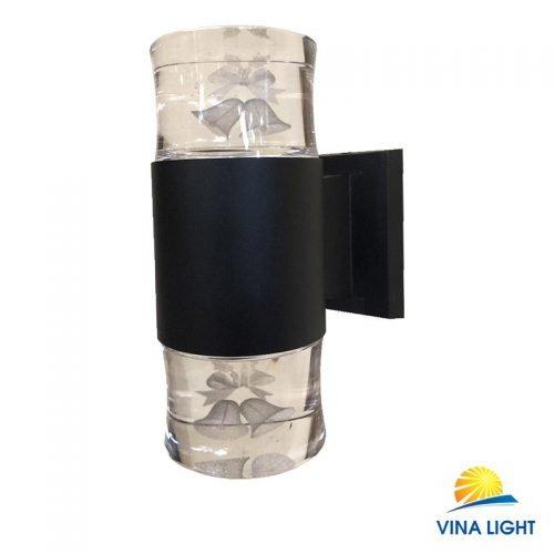 Đèn gắn tường chày Pha lê quả chuông đen VL-1913-2BK