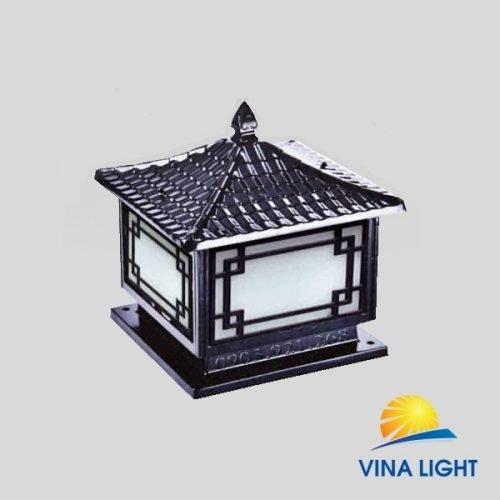Đèn chùa trụ cổng ô vuông VL-7165