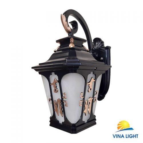 Đèn chùa mạ đen nhũ vàng VL-9027BK