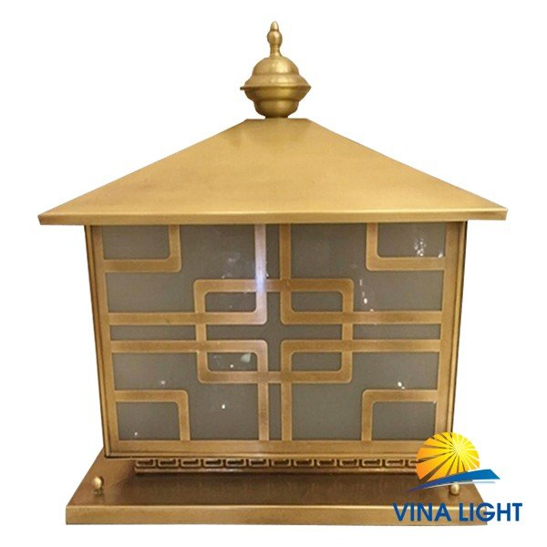 Đèn đồng chùa trụ cổng VL-Z6023
