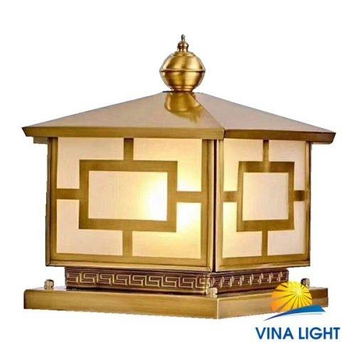 Đèn đồng chùa trụ cổng VL-Z6024