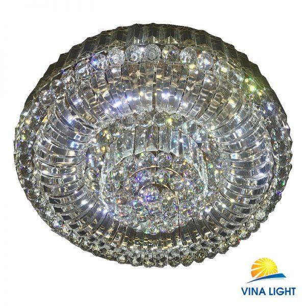 Đèn ốp trần hạt Pha lê VL-9196-800