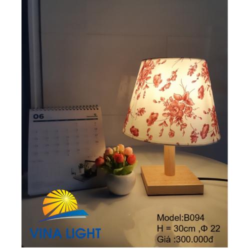 Đèn bàn Ø22 cao 30cm B094
