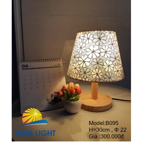 Đèn bàn Ø22 cao 30cm B095