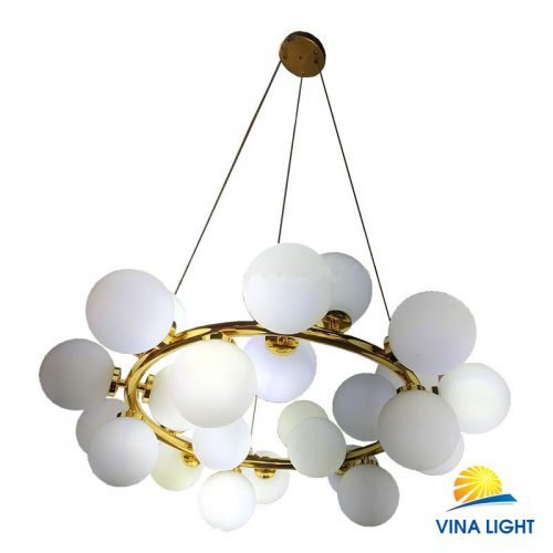 Đèn chùm phân tử chao trắng mờ VL-BB25-25