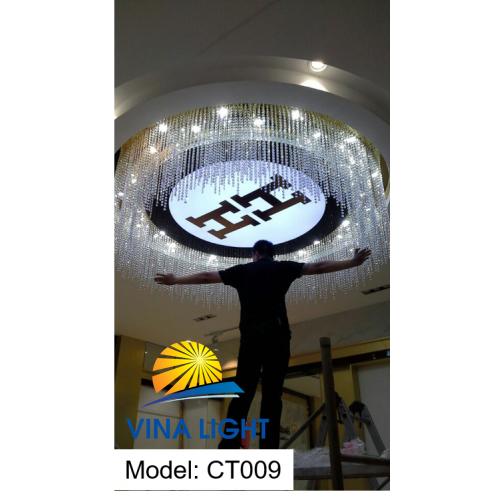 Đèn mâm Pha lê CT009