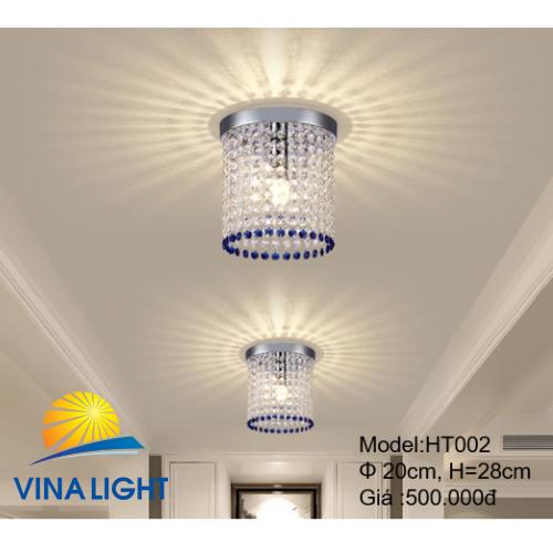 Đèn thả 20cm cao 28cm HT-002