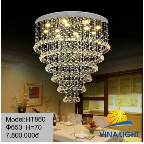 Đèn thả 650mm cao 70cm HT860