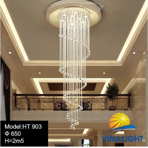 Đèn thông tầng 2m5 650mm HT-903