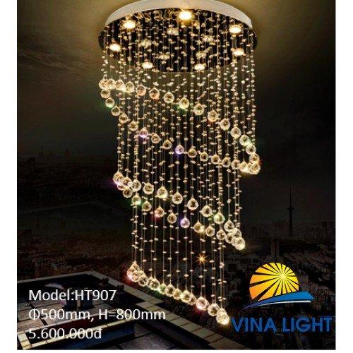 Đèn thông tầng 500mm cao 800mm HT-907