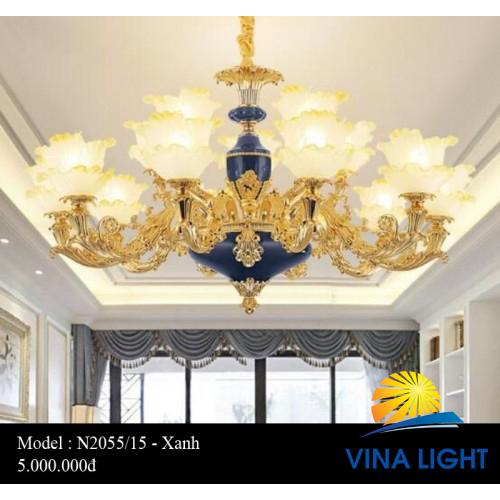 Đèn chùm 15 tay N2055-15X