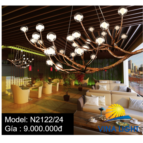 Đèn chùm dáng cây N2122-24