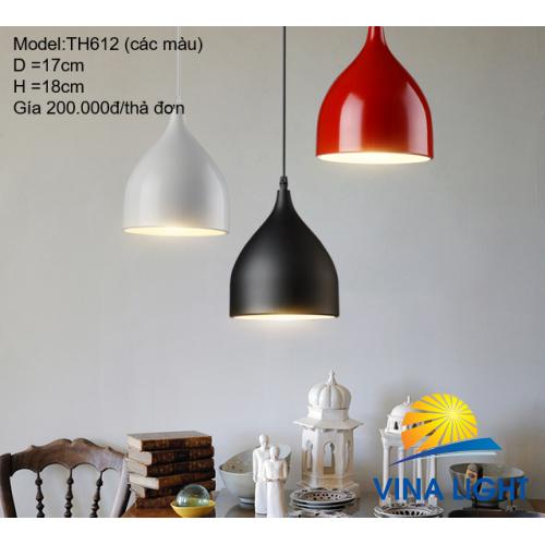 Đèn thả trần Ø17cm cao 18cm TH612 Đ_B_T