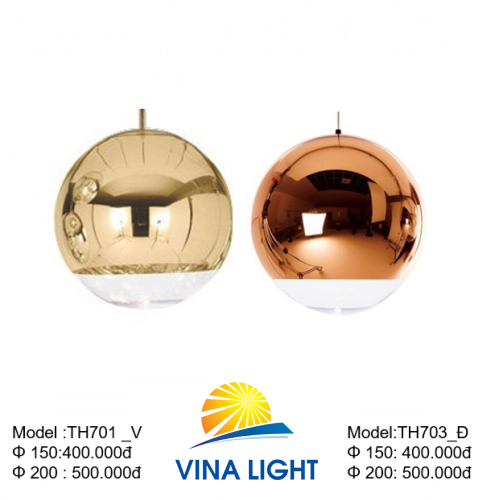 Đèn thả thủy tinh TH701_703