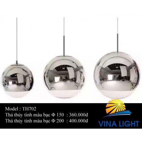 Đèn thả thủy tinh TH702
