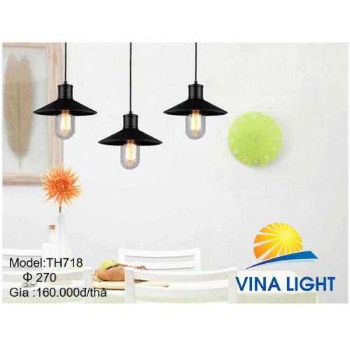 Đèn thả trần Ø270mm HT718