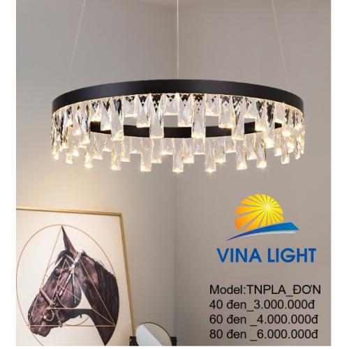 Đèn thả trần 400mm LNPA_ĐƠN