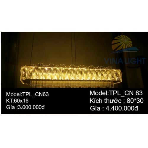 Đèn thả trần Pha lê TPL_CN