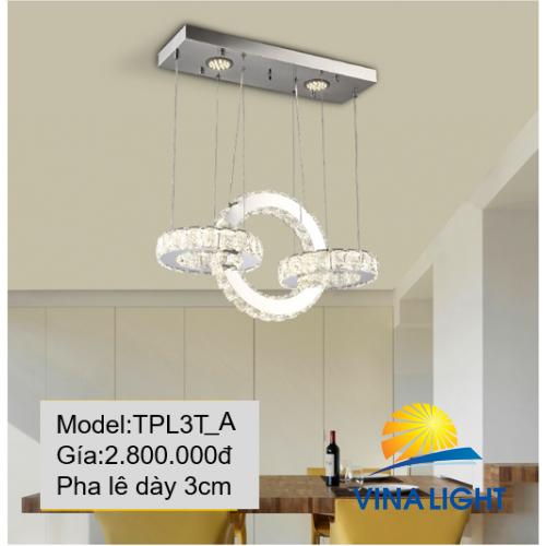 Đèn thả trần Pha lê TPL3T_A