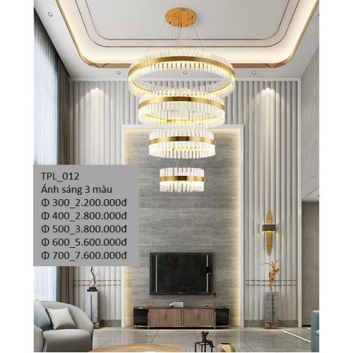Đèn thả trần Pha lê TPL_012.2