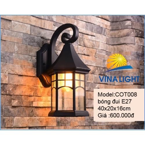 Đèn tường chùa đồng COT008