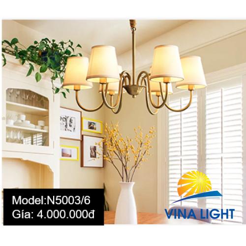 Đèn chùm 6 tay N5003-6