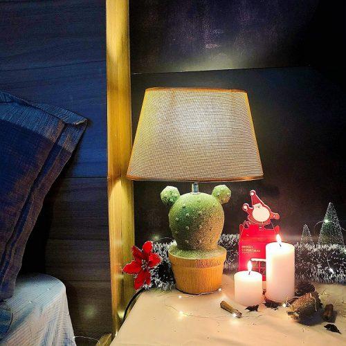 Đèn bàn gốm trang trí VL-DY17512